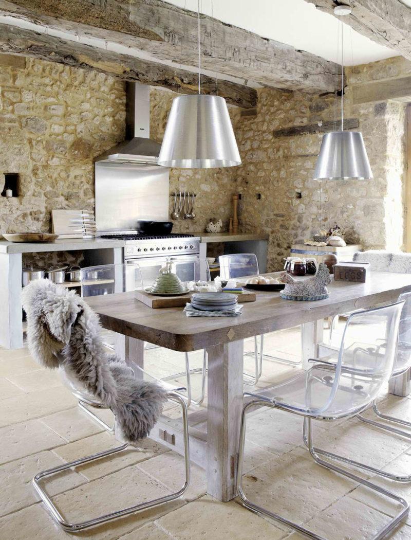Кухня в стиле эклектика (49)