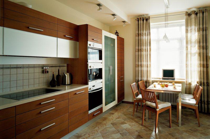 Кухня в стиле эклектика (50)