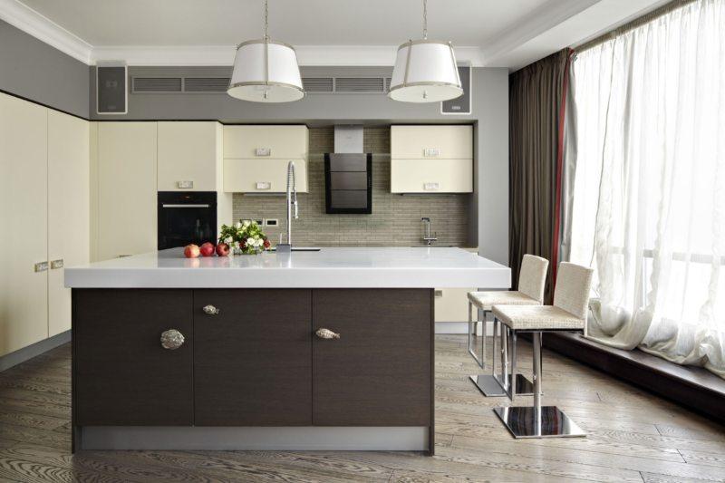 Кухня в стиле эклектика (51)