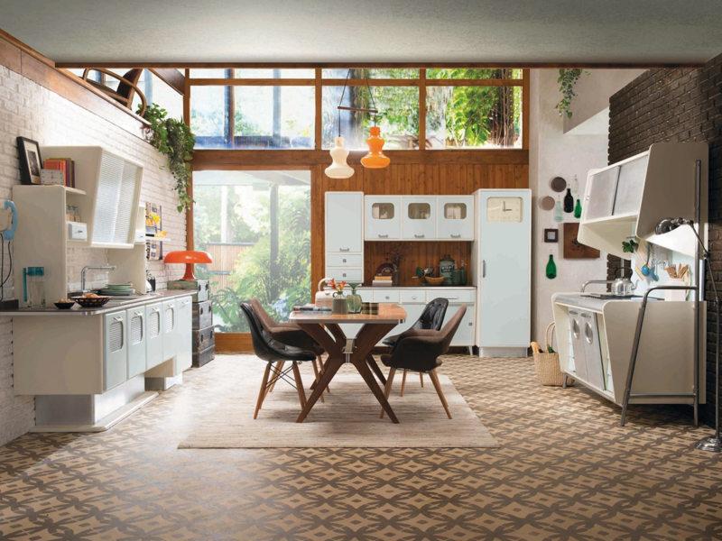 Кухня в стиле эклектика (59)