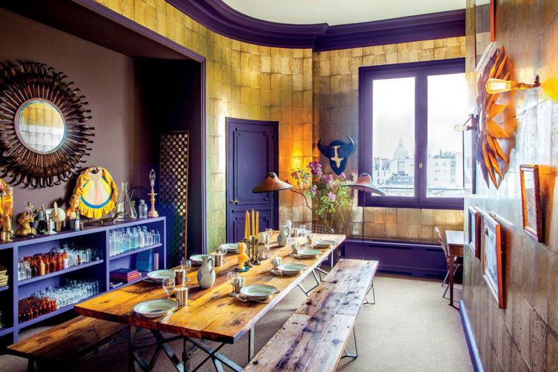 Кухня в стиле эклектика (60)