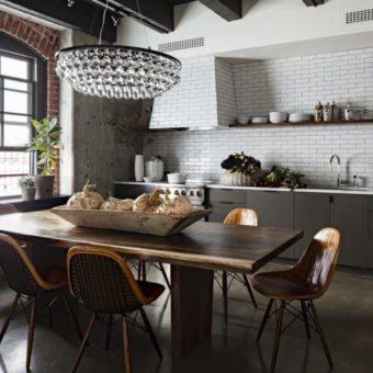 Кухня в стиле лофт — 105 фото лучших решений для интерьера