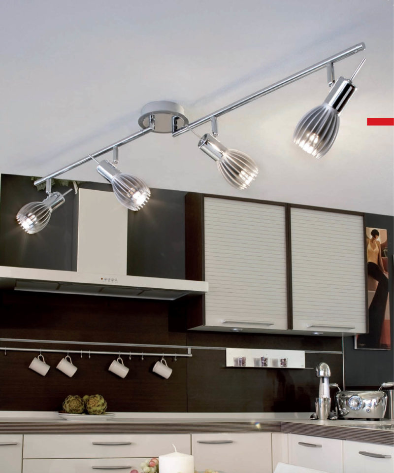 Lighting in the kitchen (10)