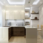 Lighting in the kitchen (12)