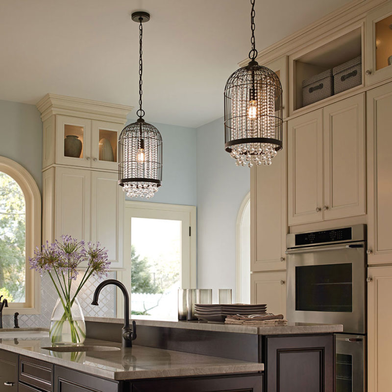 Lighting in the kitchen (13)