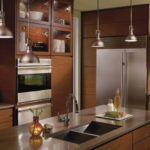 Lighting in the kitchen (19)