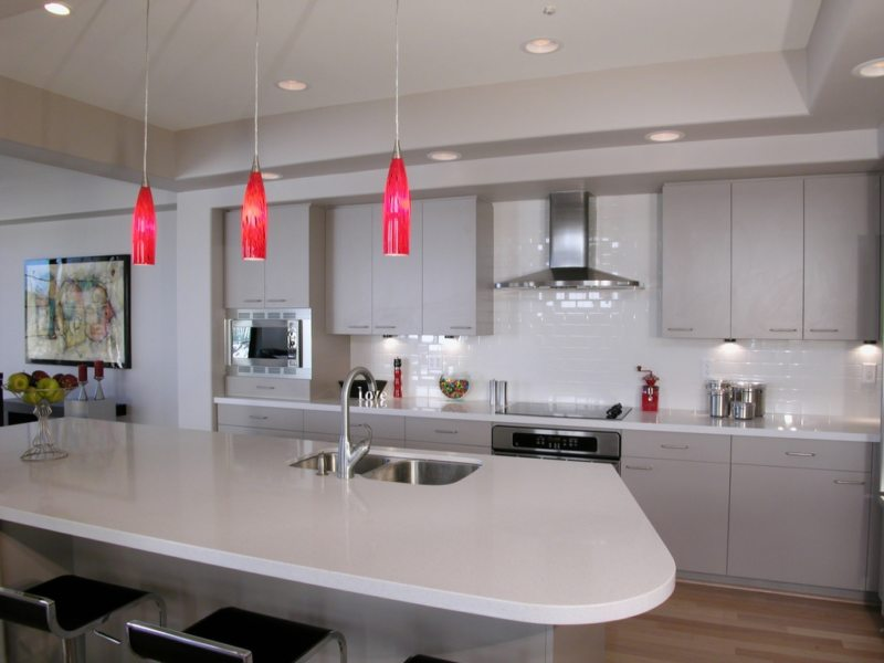 Lighting in the kitchen (41)