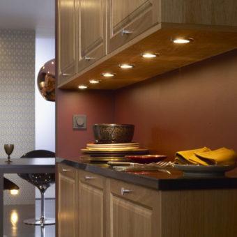 Освещение на кухне: правила идеальной организации подсветки в кухне (75 фото)