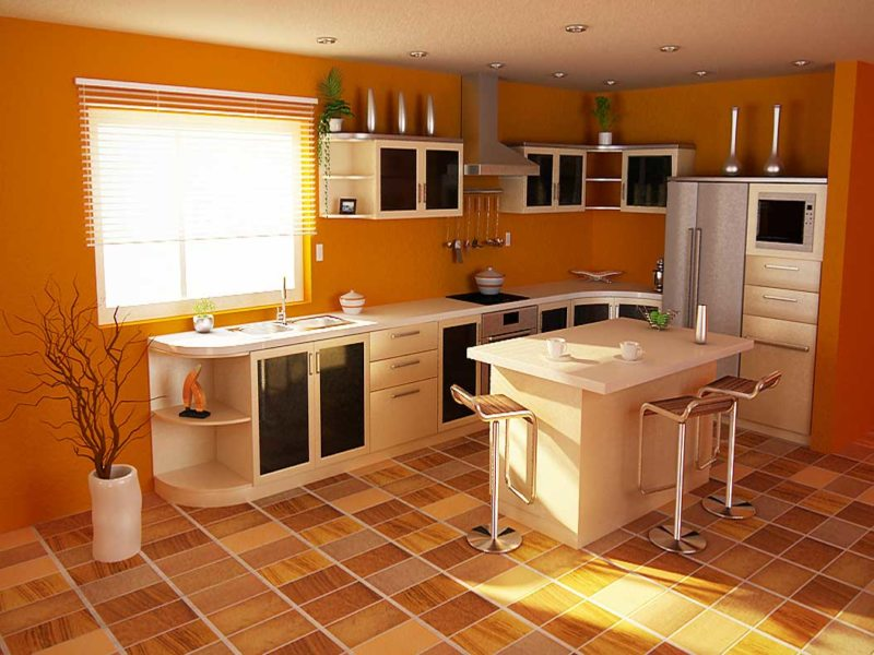 Linoleum Kitchen 5 01)
