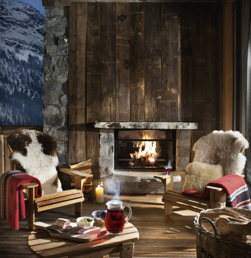 Living in a chalet-style (4)