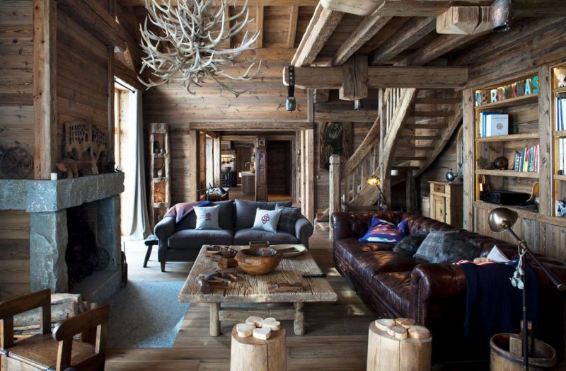Living in a chalet-style (5)