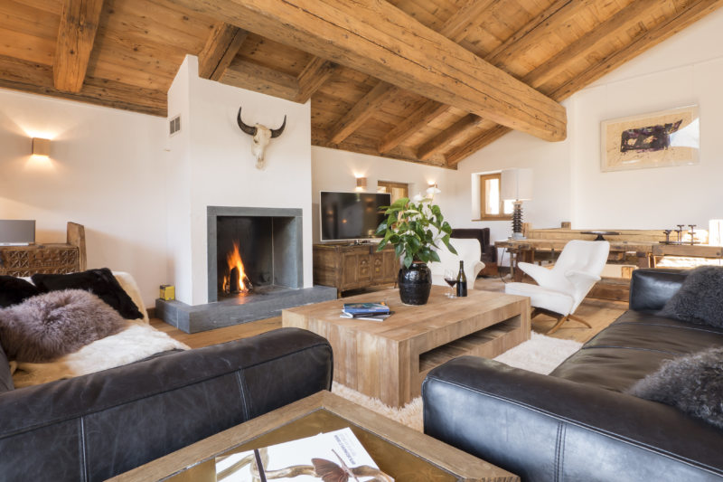 Living in a chalet-style (6)