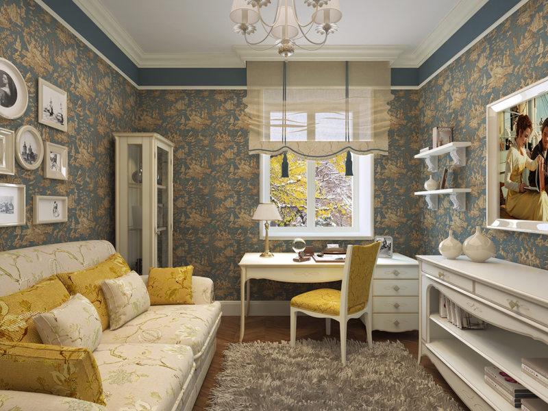 Living room 16 m2 (20)