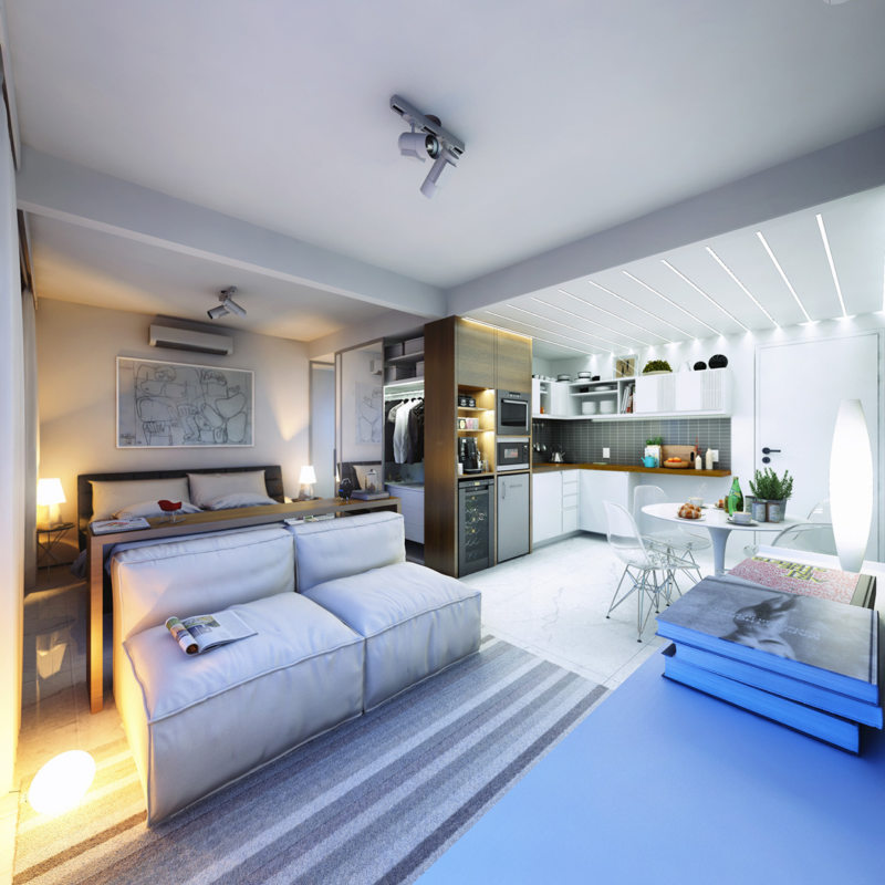 Living room 16 m2 (22)