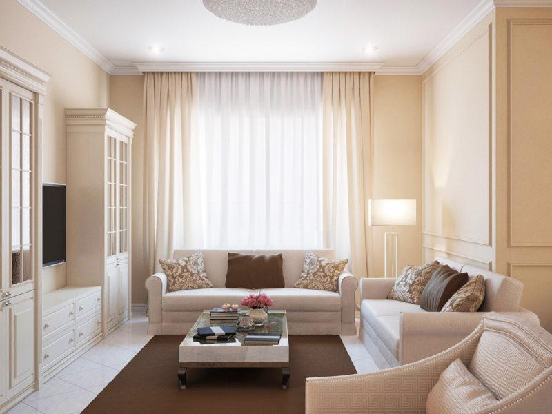 Living room 16 m2 (3)