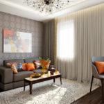 Living room 16 m2 (5)