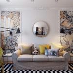 Living room 16 m2 (6)