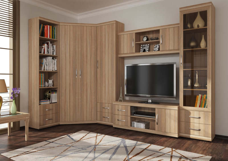Office furniture for the living room (3)