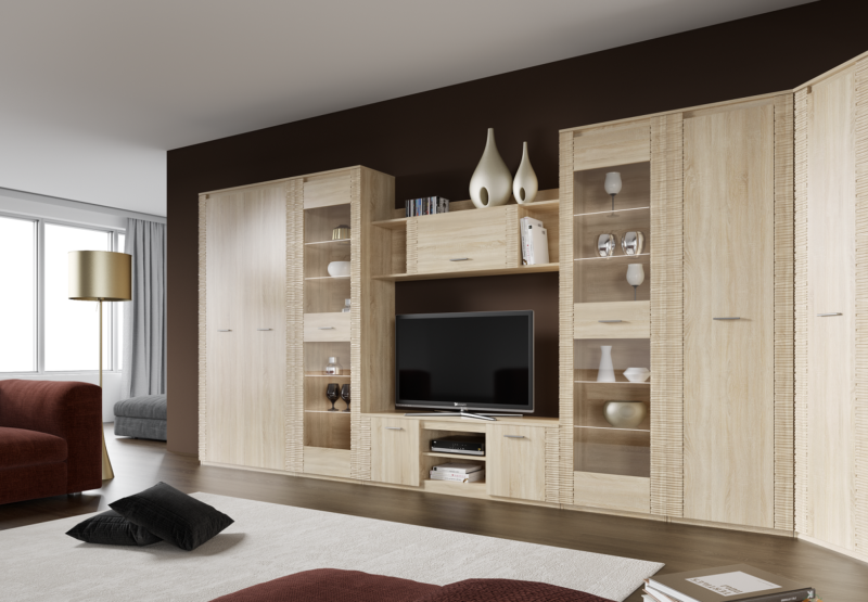 Office furniture for the living room 8 (001)