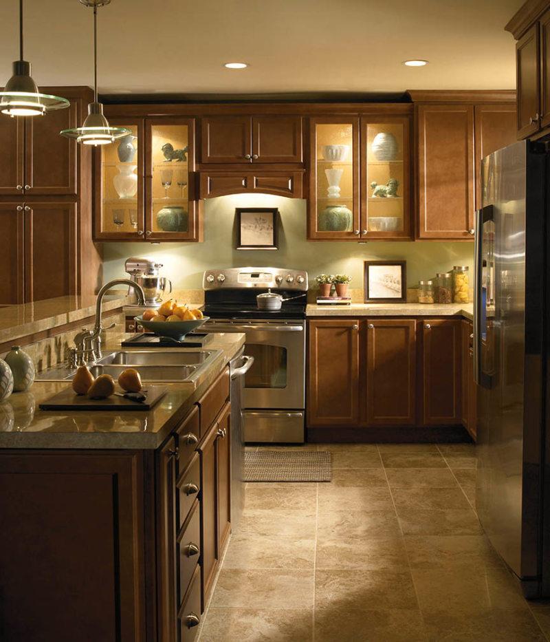 Освещение на кухне (14)