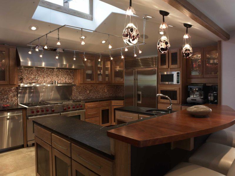 Освещение на кухне (20)
