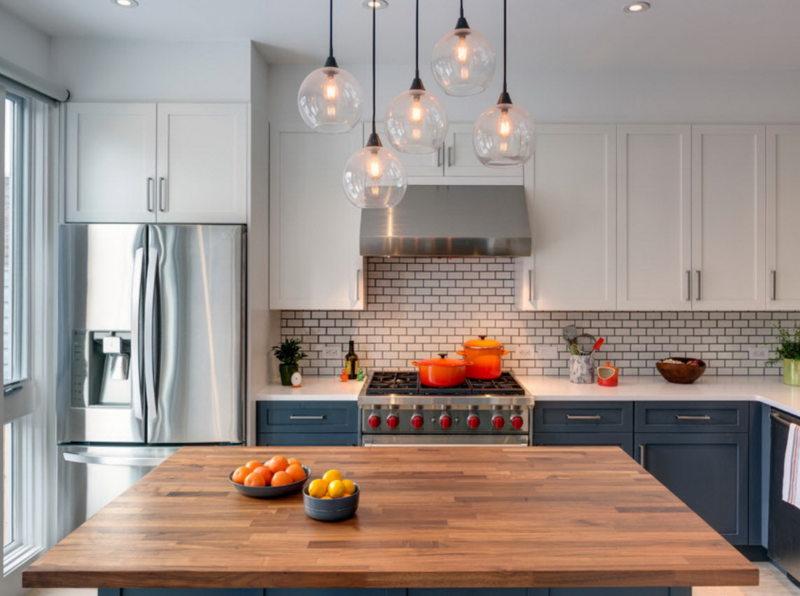 Освещение на кухне (30)