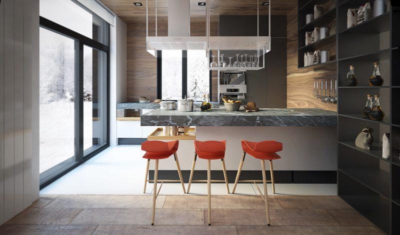 Полуострова» на кухне (2)