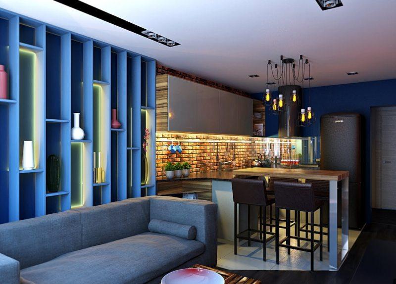 Синяя гостиная (2)