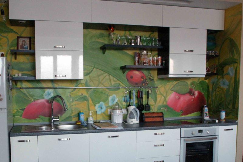 Стены на кухне (19)