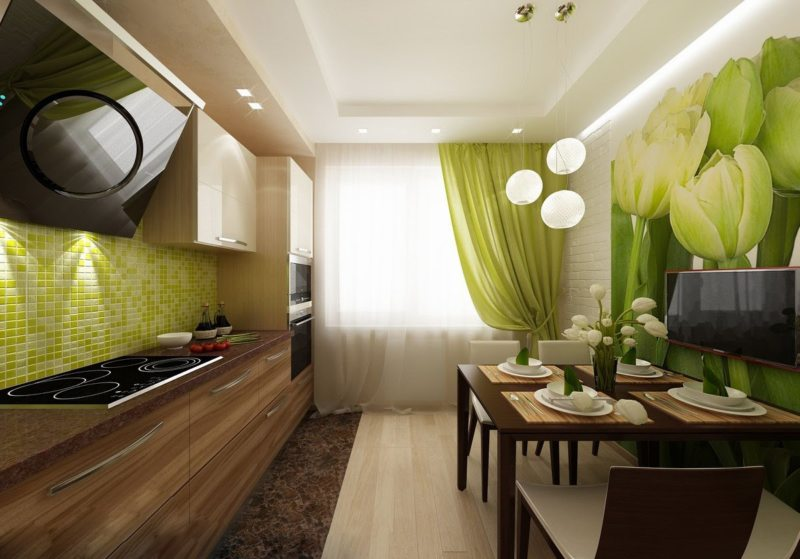 Кухня интересный дизайн