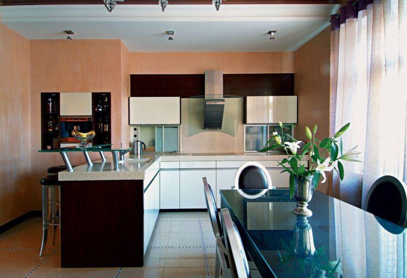 Стены на кухне (27)