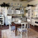The kitchen in Greek style (14)