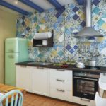 The kitchen in Greek style (20)