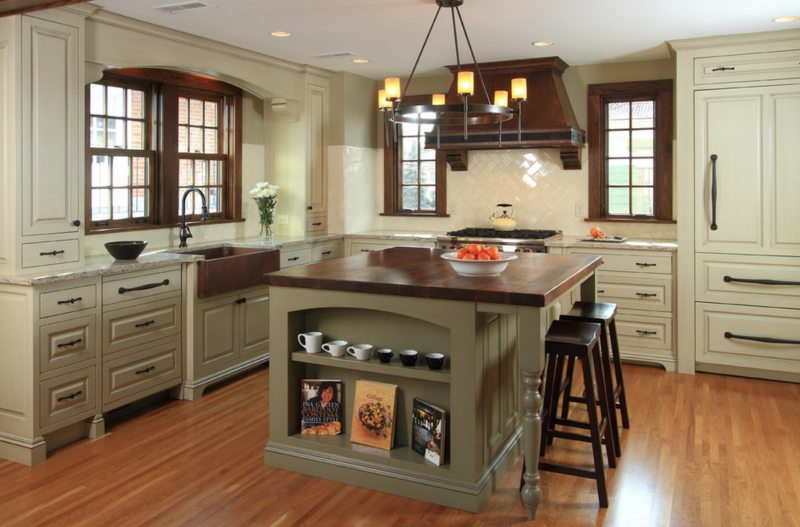 The kitchen is in the Gothic style (10)