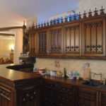 The kitchen is in the Gothic style (12)
