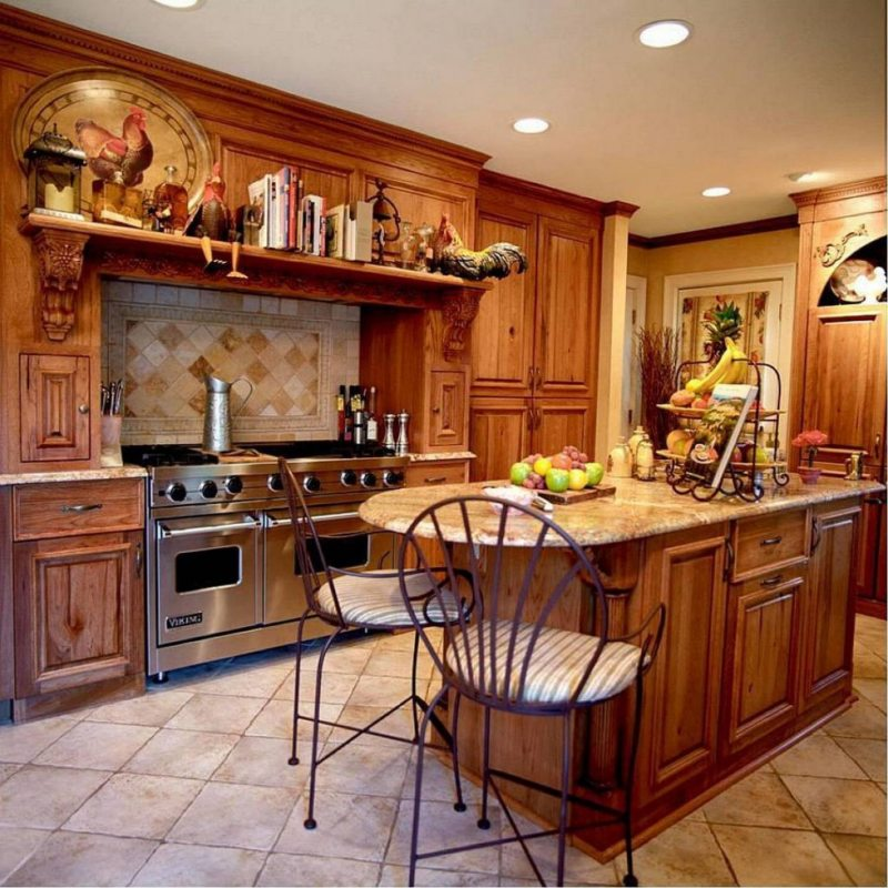 The kitchen is in the Gothic style (25)