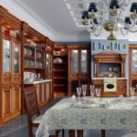 The kitchen is in the Gothic style (4)