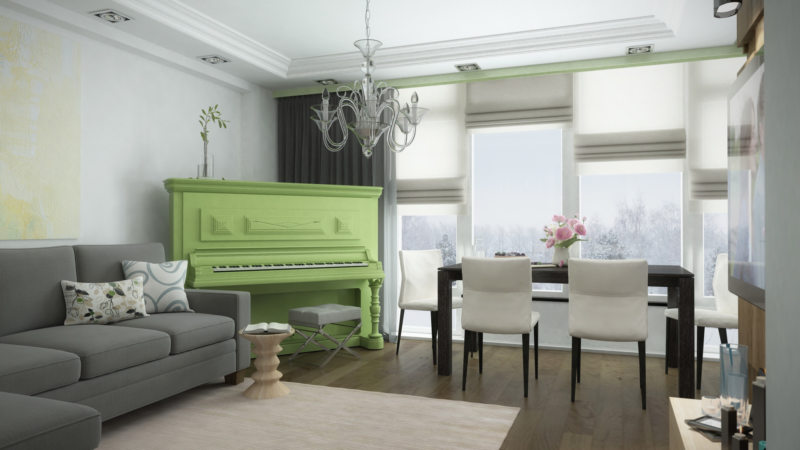 Зеленая гостиная (25)