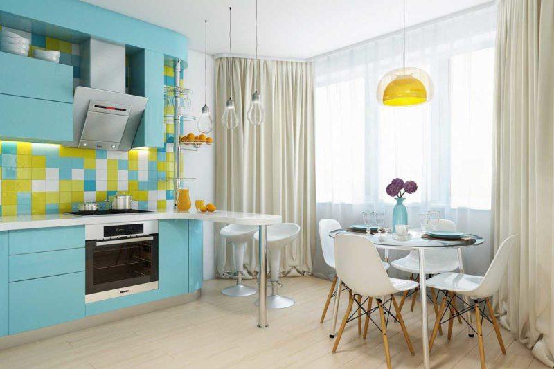 голубая кухня (10)