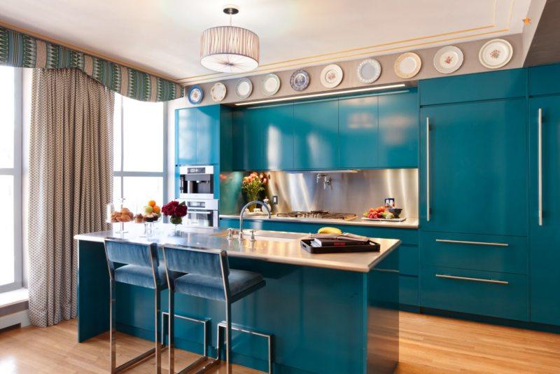 голубая кухня (6)