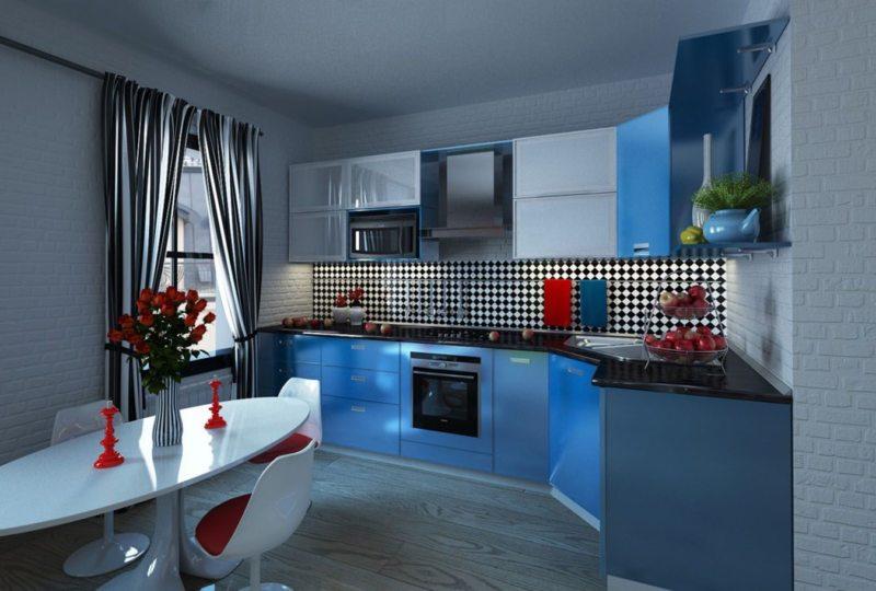 голубая кухня (7)