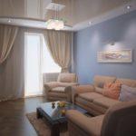 гостиная с балконом (11)