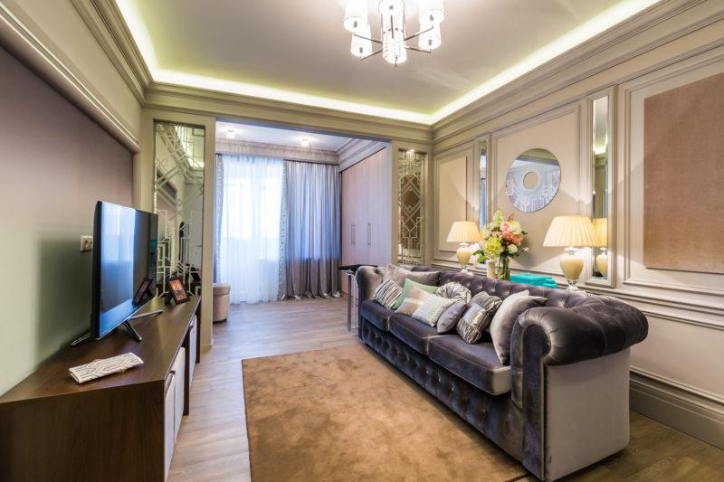 гостиная с балконом (18)