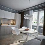 гостиная с балконом (9)