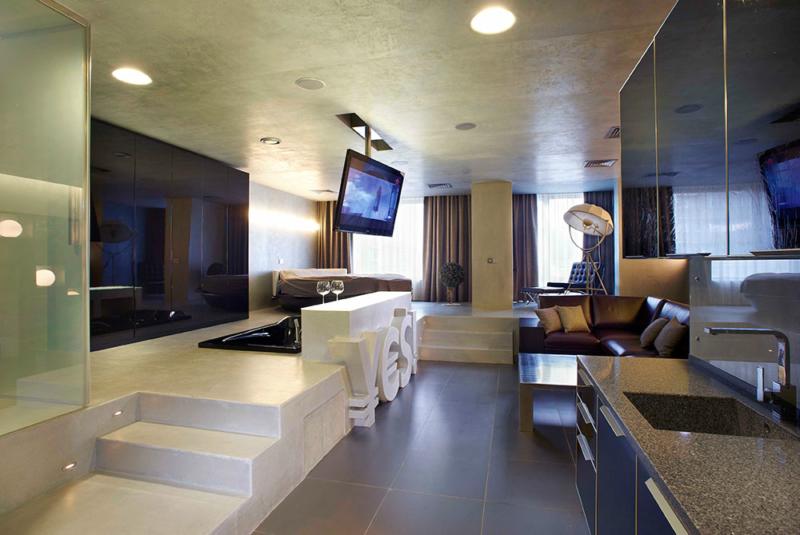 гостиная в стиле хай тек (1)