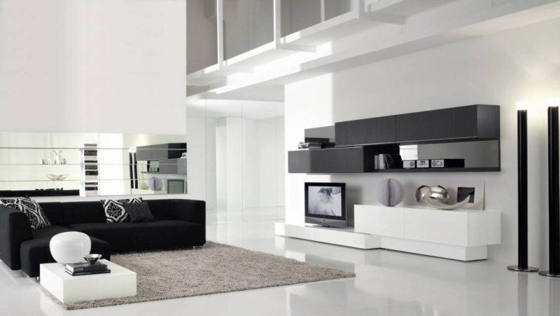 гостиная в стиле хай тек (3)
