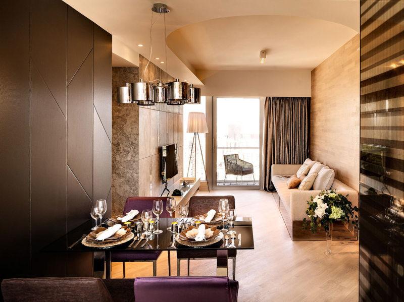 гостиная в стиле хай тек (42)