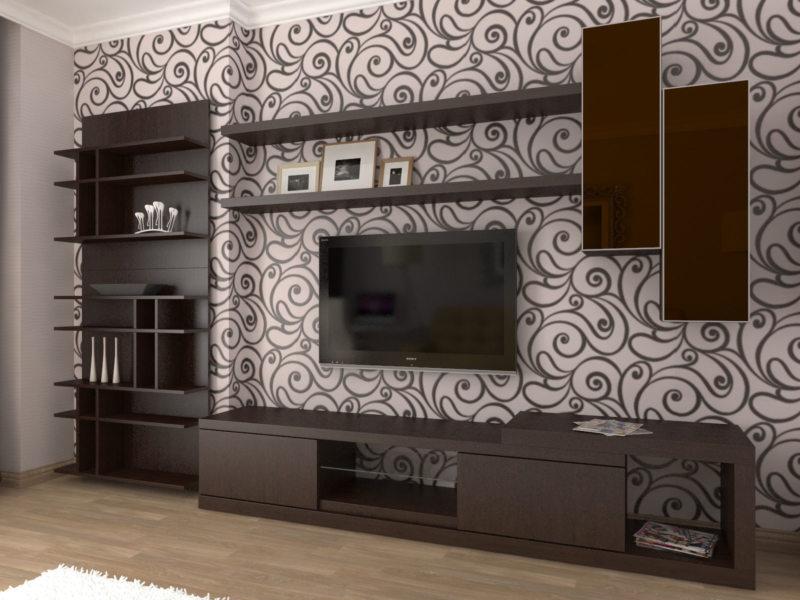 гостиная в стиле хай тек (52)
