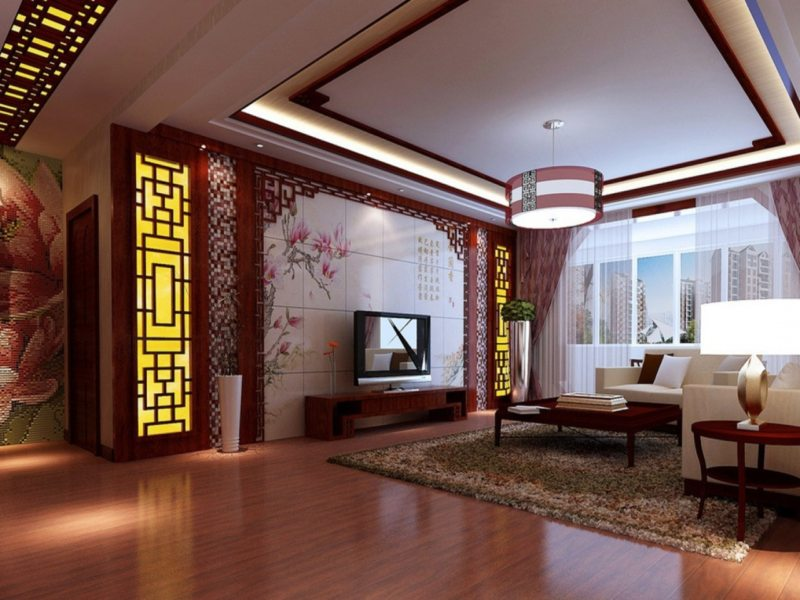 гостинная в восточном стиле 1 (19)