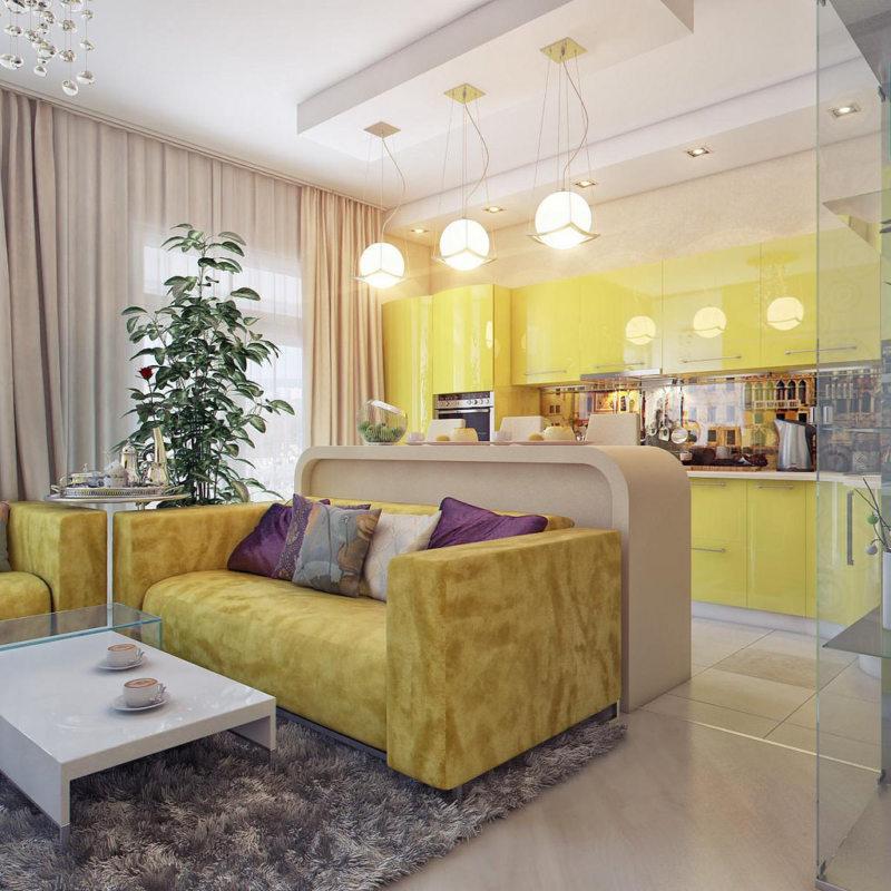 гостинная в желтом цвете 1 (42)